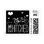 Heartfelt - Getting Hitched - Black Postage Stamp