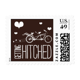 Heartfelt - Getting Hitched - Brown Stamp
