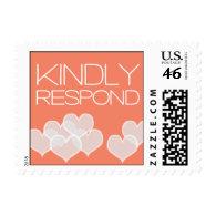 Heartfelt - Kindly Respond - Pink Postage