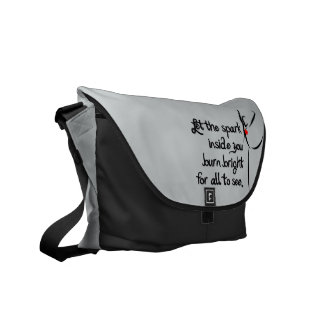 Heartfelt-Let the Spark Dance Courier Bag