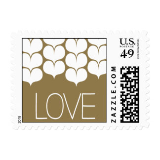 Heartfelt - Love - Gold Stamps
