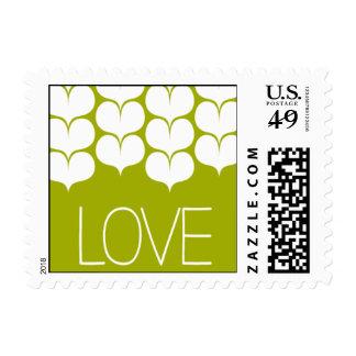 Heartfelt - Love - Green Stamps