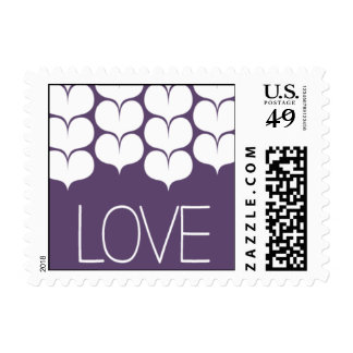 Heartfelt - Love - Purple Stamps