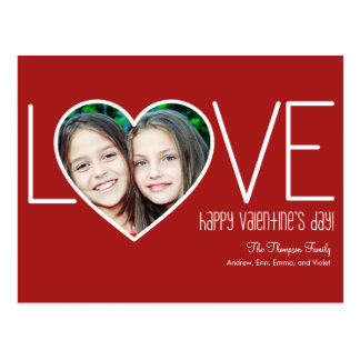 Heartfelt Love Valentine's Day Post Card