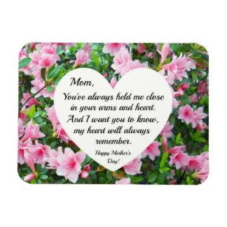 Heartfelt, loving message for Mother Rectangular Photo Magnet