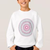 Heartfelt Mandala Kaleidoscope Pattern Sweatshirt