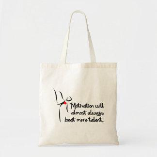 Heartfelt-Motivation Dance Budget Tote Bag