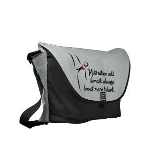 Heartfelt-Motivation Dance Messenger Bag