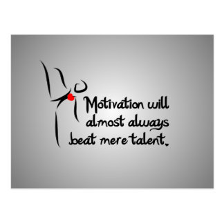 Heartfelt-Motivation Dance Postcard