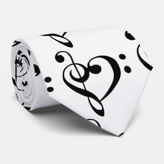 **HEARTFELT** MUSICAL NOTES TIE FOR HIM