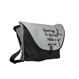 Heartfelt-Reach High Dance Messenger Bag