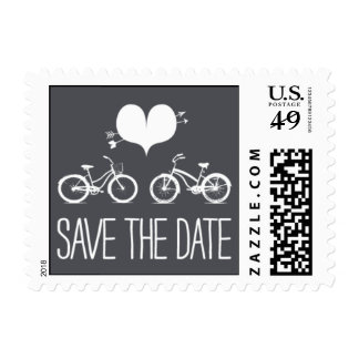 Heartfelt - Save the Date - Gray Stamp