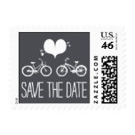 Heartfelt - Save the Date - Gray Postage Stamps