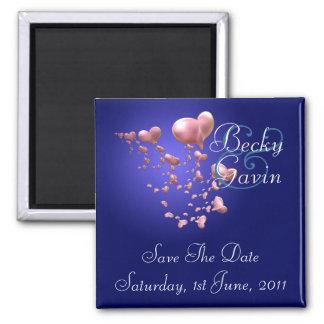 Heartfelt Save The Date Magnet
