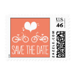 Heartfelt - Save the Date - Pink Postage Stamps