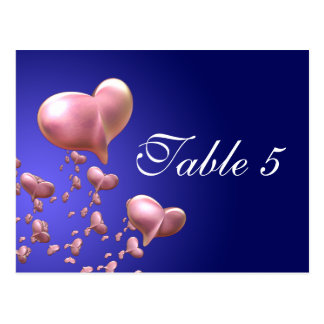 Heartfelt Table Number Card