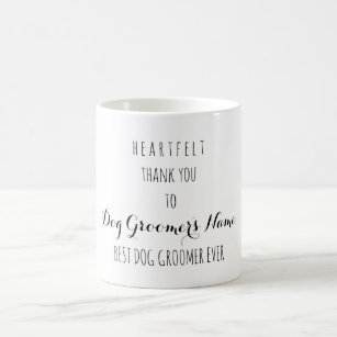 Thank You For Groomers Gifts On Zazzle