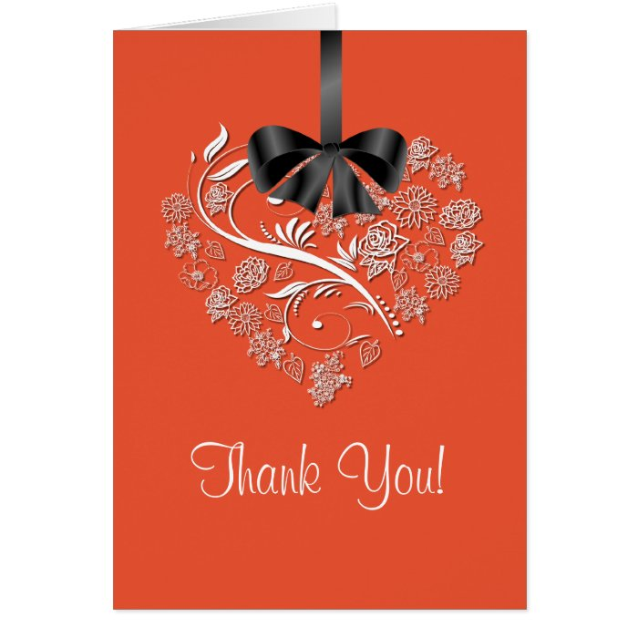 heartfelt thank you card