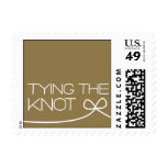 Heartfelt - Tying the Knot - Gold Postage