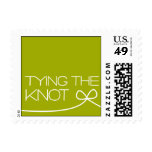 Heartfelt - Tying the Knot - Green Stamps
