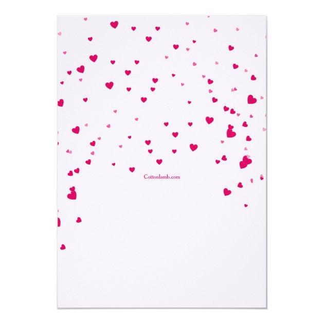 Heartfelt Valentine's Day Invitation (back side)