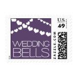 Heartfelt - Wedding Bells - Purple Postage