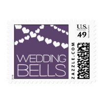 Heartfelt - Wedding Bells - Purple Postage