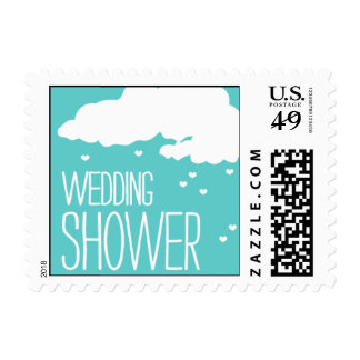 Heartfelt - Wedding Shower - Blue Postage