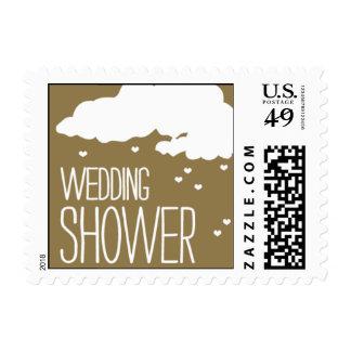 Heartfelt - Wedding Shower - Gold Postage