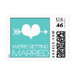 Heartfelt - We're Getting Married - Blue Stamps
