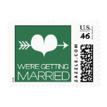 Heartfelt - We're Getting Married - Lucky Stamp