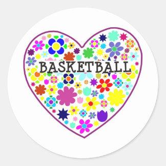heartfilledwithflowers-basketball stickers