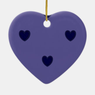 Heartfull Ceramic Ornament