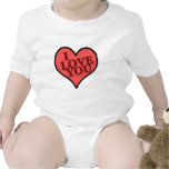 heartglass traje de bebé