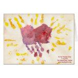 """HeartGlow"" by Raegan Aria Greeting Card"