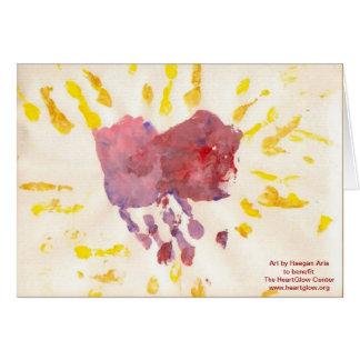 """""""HeartGlow"""" por la tarjeta de felicitación de la"""