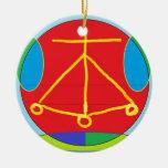 HEARTH Karuna Reiki Energy Christmas Tree Ornaments