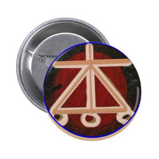 HEARTH - Karuna Reiki Healing Symbol Pinback Button