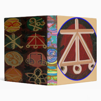 HEARTH - KARUNA Reiki Symbols 3 Ring Binder