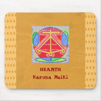 HEARTH - Love Truth Compassion Beauty Harmony Bala Mouse Pad