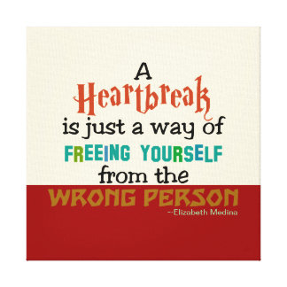 Hearthbreak CHANGE COLOR ~ .75 Thick Canvas Canvas Print