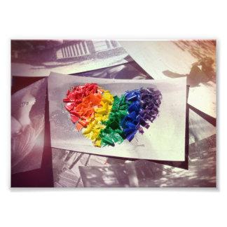Hearthues Crayon Love Photo