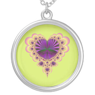 Heartistic License Round Pendant Necklace
