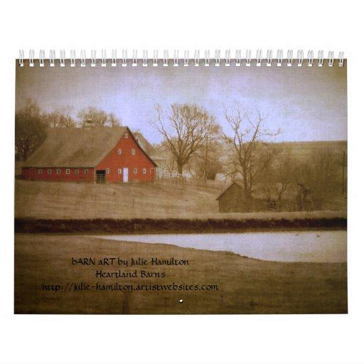 Heartland Barns Calendar