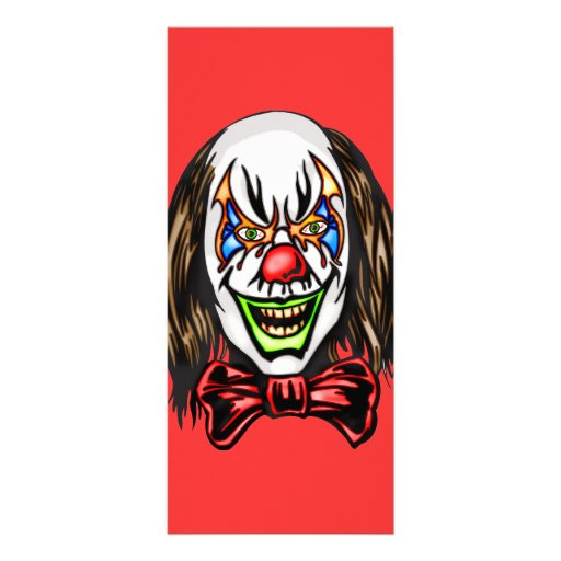 Heartless Evil Clown Rack Cards
