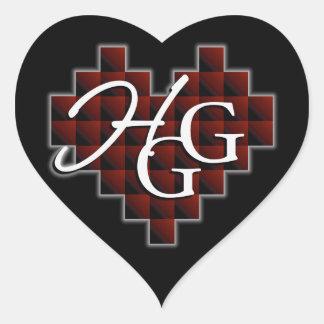 Heartless Gamer Girl Logo Stickers