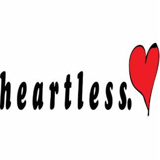 Heartless Keychain