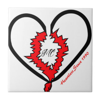 Heartless Since 1990 Tile