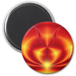 Heartlight 2 Inch Round Magnet