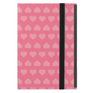 Heartlines-Bubblegum Pink iPad Mini Case